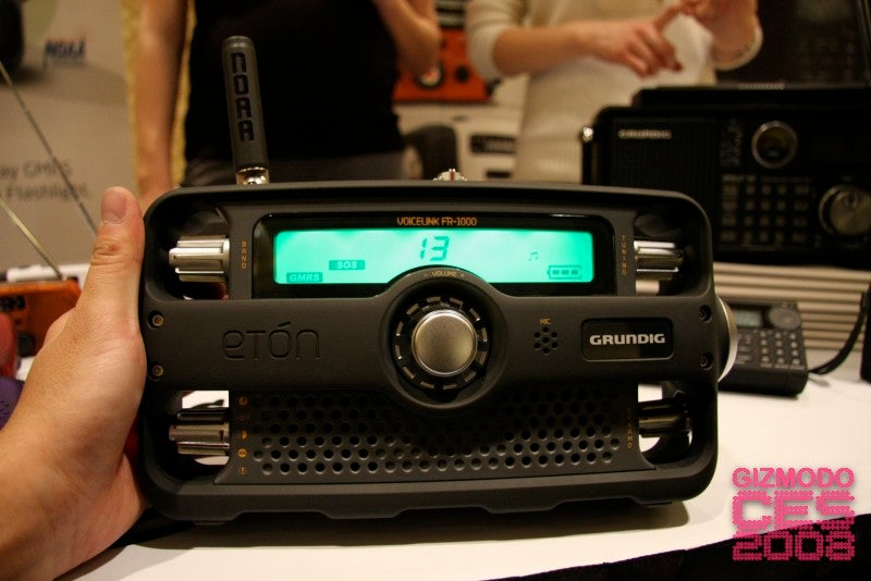 Grundig Eton FR1000 Voicelink Survival Radio Is Gorgeous