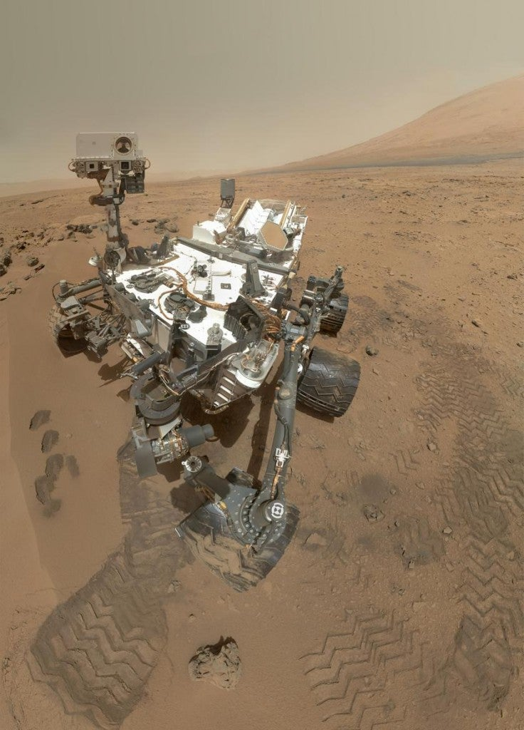 Oh, hey there, Mars Curiosity Rover