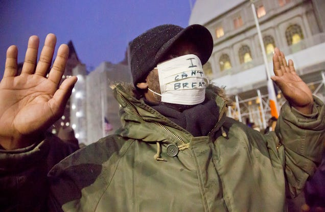 Thoughtful Illinois Woman Seeks Trademark for 'I Can't Breathe'