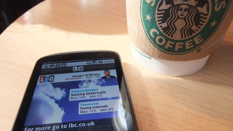 Think Twice Before You Use Your Smart Phone at Starbucks