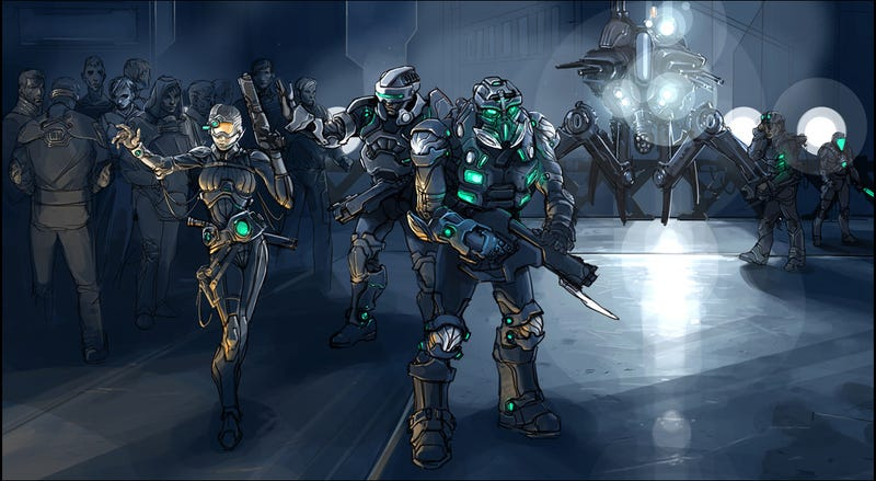 More Halo MMO Concepts: Revenge of Mistress Chief