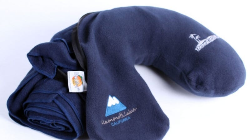 Travel Billow Combines Blanket and Pillow for Comfortable Flying