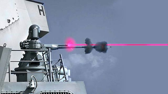 Navy's Next Wonder Weapon Combines a High Speed 25mm Gun With Deadly Laser