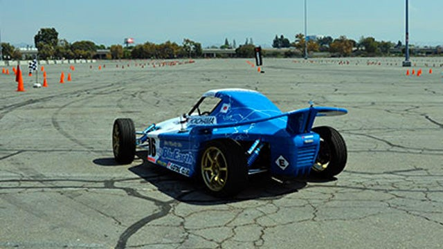 An electric racer that goes like the devil