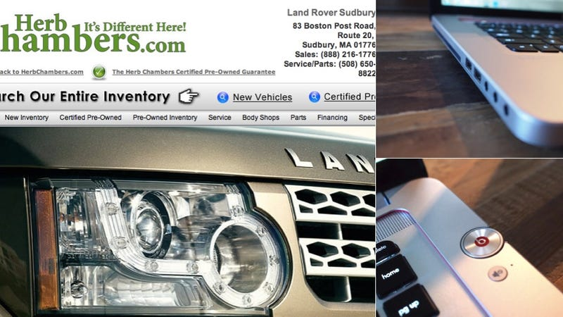 If You Call HP's Laptop Hotline, You'll Ring a Land Rover Dealership