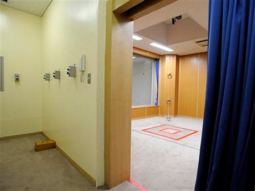 Japan Reveals Its Execution Room For The First Time
