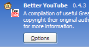 Better YouTube Extension Now Firefox 3 Compatible