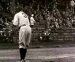 Is This Babe Ruth's Big Swinging Dick?