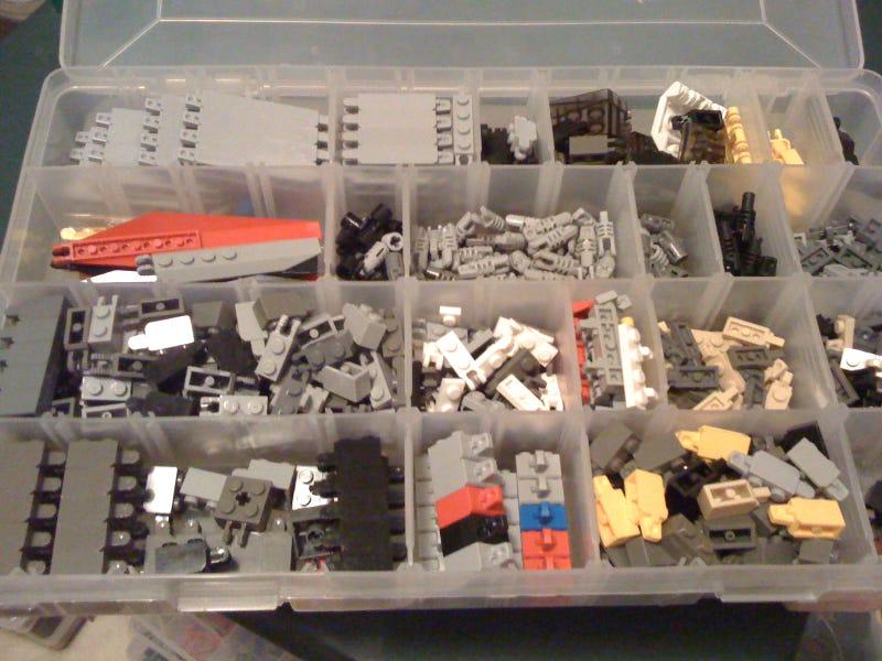 Lego Maniacs Sorting