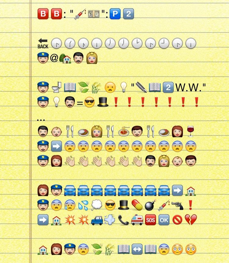 The Entire Breaking Bad Premiere, Translated Into Emoji
