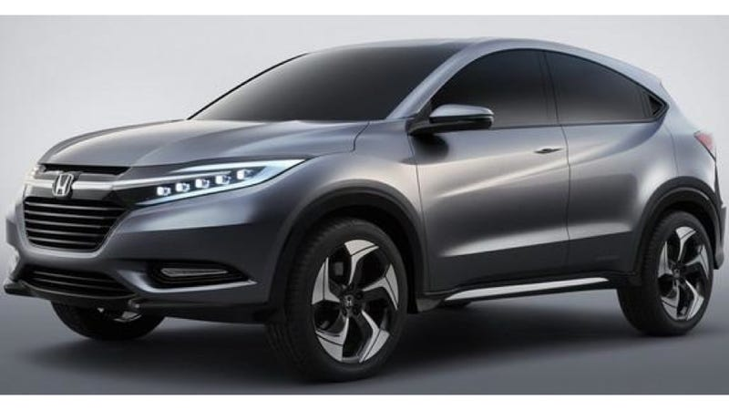 Honda Urban SUV Concept Will Compete With The Nissan Juke, Is As Ugly As The Juke