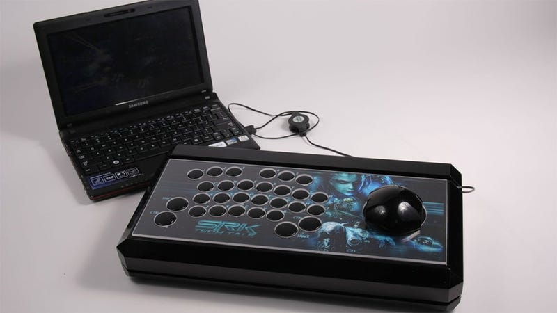 This is the Ultimate Custom Arcade Fight Stick... for StarCraft II