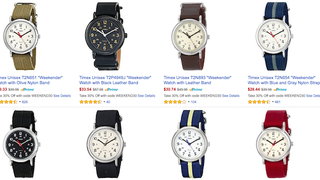 "Timex's Popular ""Weekender"" Watches Are In Impulse Buy Range Today"