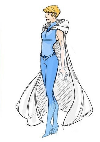 Disney princesses don their best superhero duds