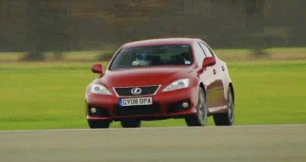 Top Gear Pits BMW M3 Vs. Lexus IS-F, We Translate Stig's Morse Code