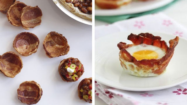 Make an Egg in a Bacon Cup, and Other Incredible Bacon-Cup-Based Foods