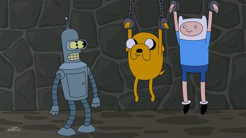 A Futurama/Adventure Time crossover is real and is happening