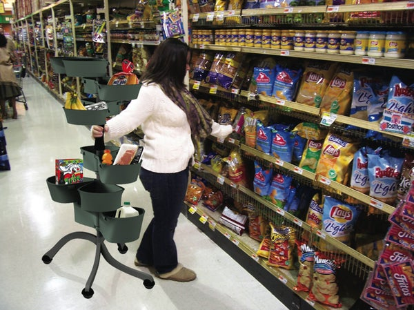 UpCart Puts a Literal Twist On The Old Fashioned Shopping Cart