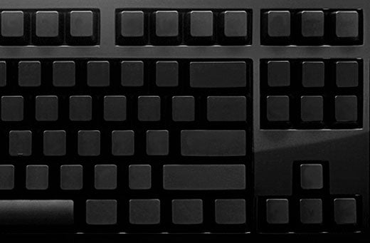 Das Ultimate Keyboard is Too Cool for Key Legends