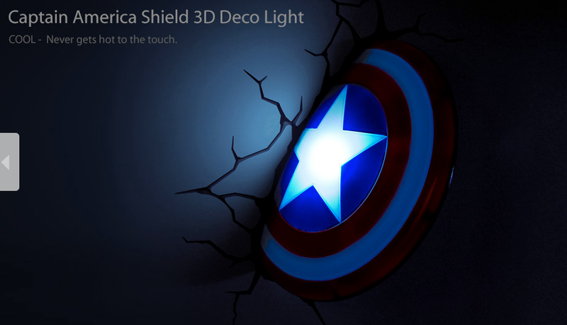 "I have a heretofore undisclosed ""thing"" for superhero nightlights"