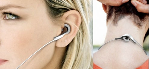 Holeder Earphones Concept Avoids Bacteria By Hanging in Your Ear