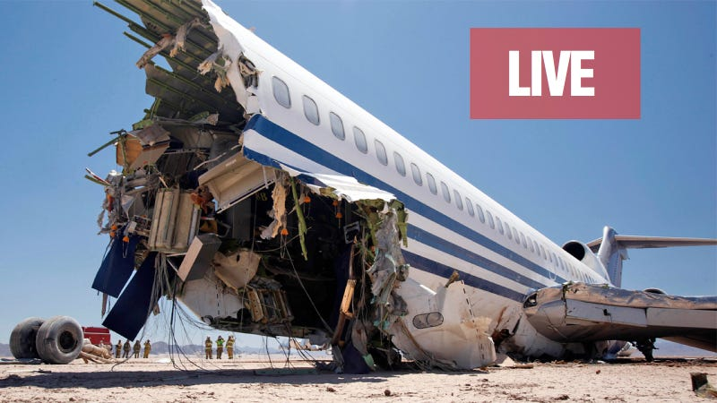 Ask The Scientists Who Crashed A Passenger Jet On Purpose For Discovery Anything You Want