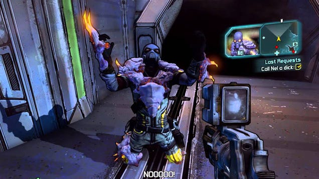 Unlock A Secret Borderlands Boss By... Calling Someone A 'Dick'