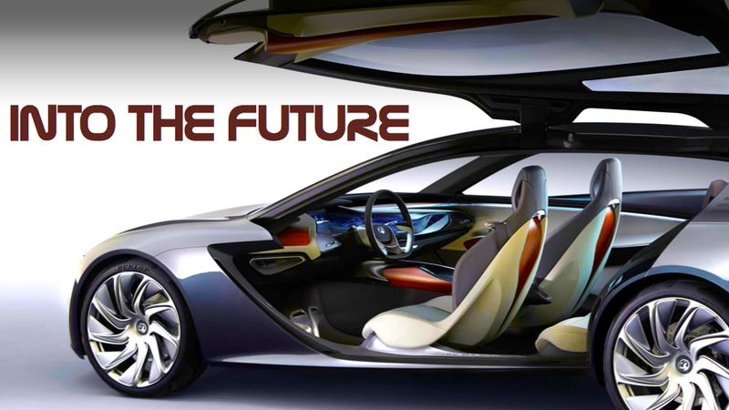 These Next-Gen Car Interiors Look Like Gorgeous Spaceship Cockpits