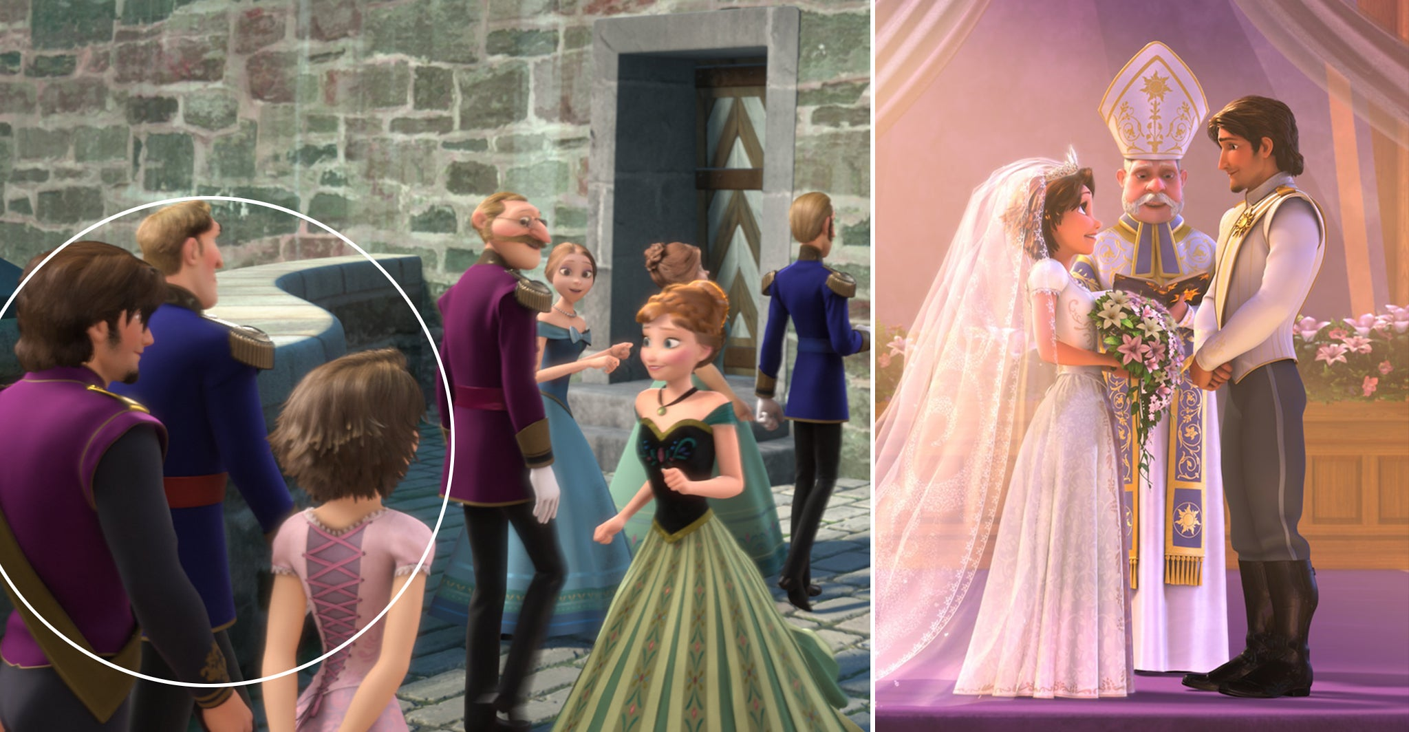 related pictures tangled -#main