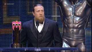 Daniel Bryan WWE HOF Speech: Wrestling's Fake, But Here&am