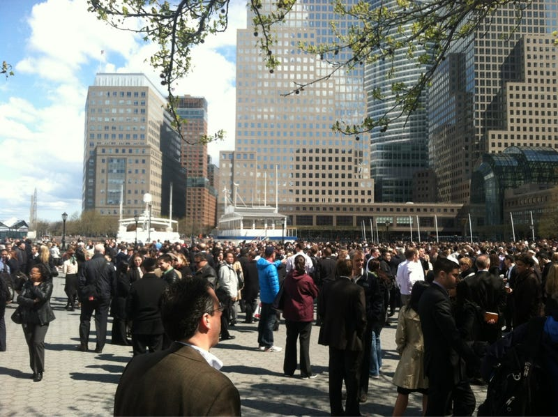 World Financial Center Building Evacuated Over Suspicious Package (Update: All Clear)