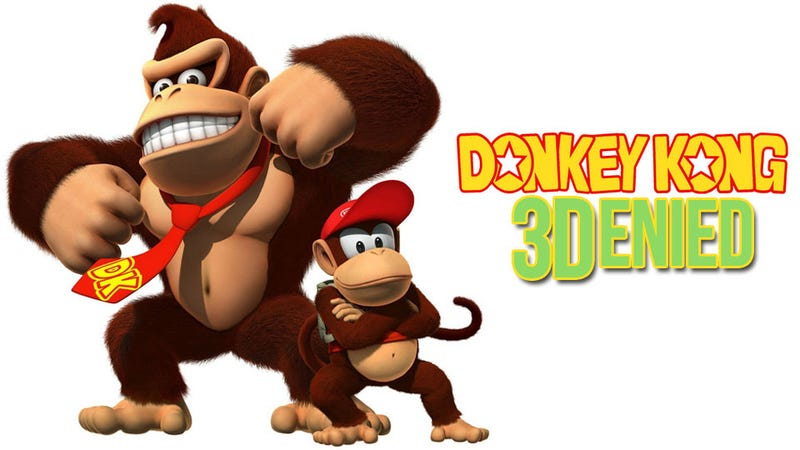 GameStop Debunks Wild Donkey Kong 3D Rumors