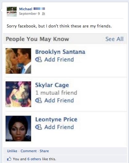Why Is Part of Facebook Broken?
