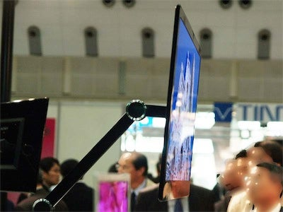 Sony Demos 9mm-thick High-Def OLED Displays