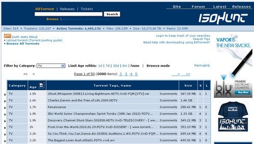 Five Best Public BitTorrent Trackers