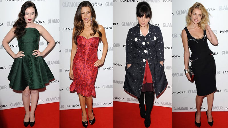 Not a Lot of Glamour at Glamour's Women of the Year Awards