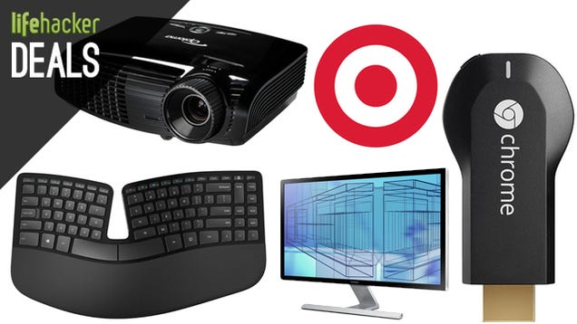 Deals: $10 off $40 at Target, Optoma Projector, Ergonomic Keyboard