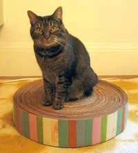 Recycle Cardboard Boxes into a Durable Cat Scratching Pad