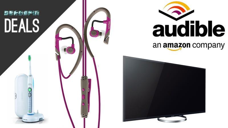 4K Television, Audiobooks, Cleaner Teeth, Athletic Headphones