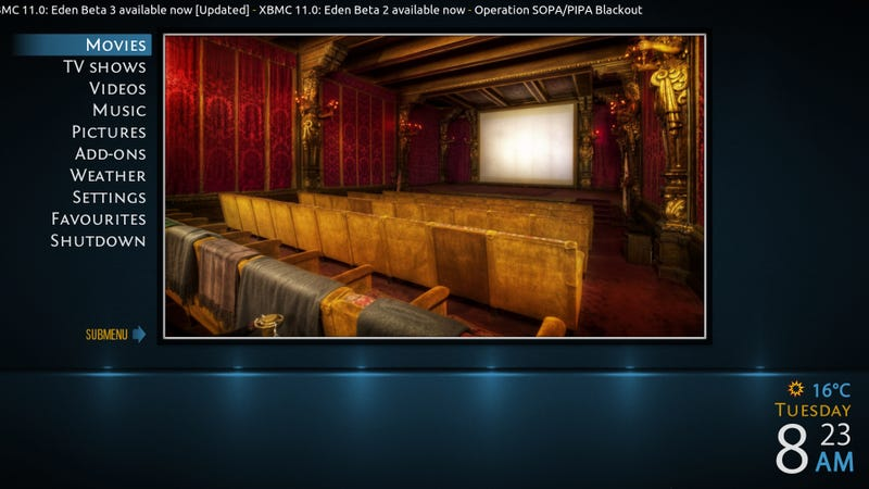 Four Beautiful XBMC Skins That Make Your Media Center Look Awesome