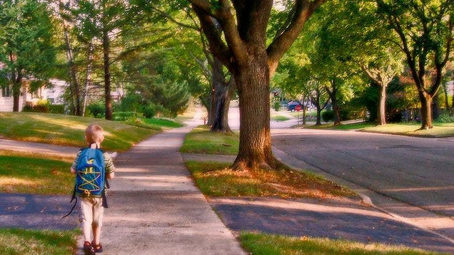 Do You Let Your Kid Walk to School or Play Outside Alone?