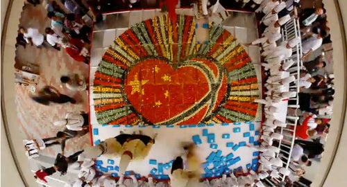 This Is the World's Largest Sushi Mosaic