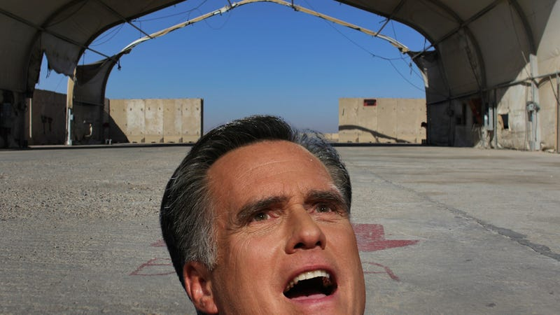 Mitt Romney Fails to Meet His War Word Quota