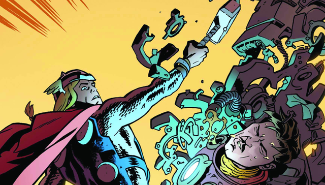 A Thunder God beats up Tony Stark (and calls it quits) in this week's comics