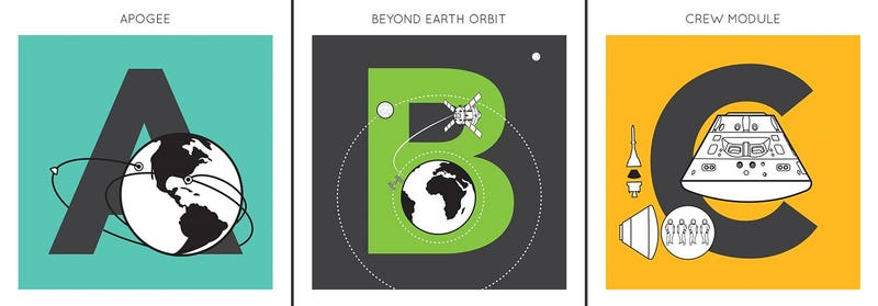 A Charming Alphabet Series Explores the ABCs of Rocket Science