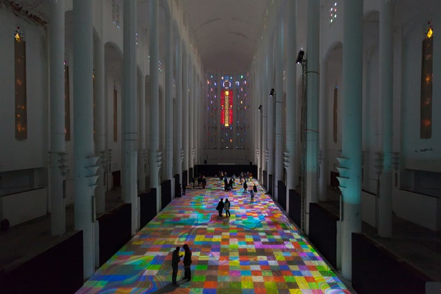 Walk on a Magic Carpet of Light in this Moroccan Cathedral