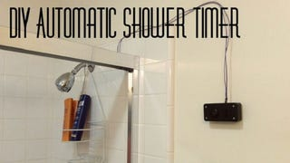 Save Time and Water with This DIY Automatic Shower Timer