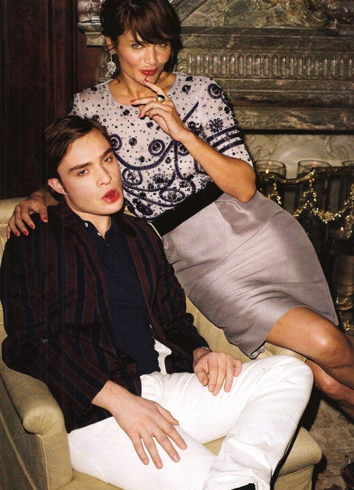 "Here's To You, Mrs Robinson: Chuck Bass Stars In Bazaar's ""Gossip Graduate"""