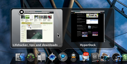 HyperDock Brings Window Previews, Other Dock Enhancements to OS X
