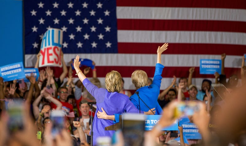 Hillary Clinton and Elizabeth Warren Set the Trap For Donald Trump